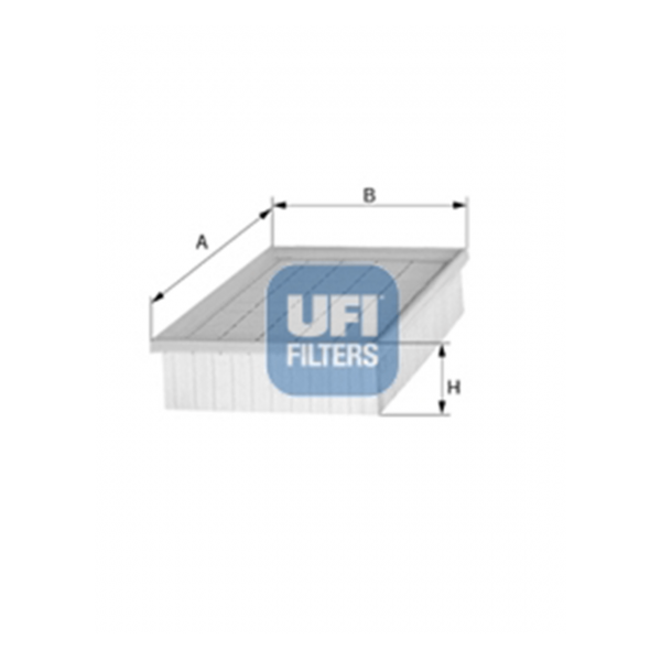 Ufi Luftfilter 30.886.00 - Stück