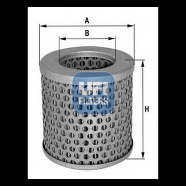 Ufi Luftfilter 27.776.00 - Stück