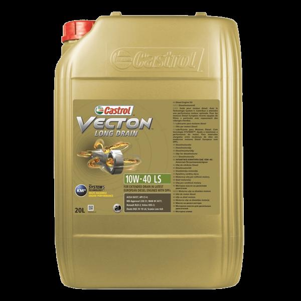 Castrol Vecton Long Drain 10W-40 LS