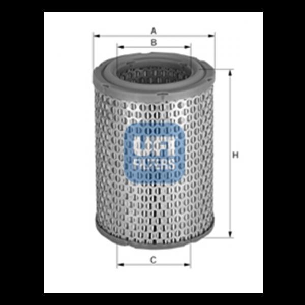 Ufi Luftfilter 27.814.00 - Stück